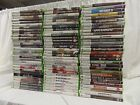 XBOX 360 GAMES PICK AND CHOOSE FREE SHIPPING CALL OF DUTY GEARS HALO MINECRAFT M