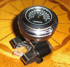 VTG Style CIRCA Art Deco BLACK THERMOMETER SPINNER SUICIDE KNOB HOT RAT ROD 40S $40.0 USD