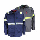FR Shirt HiVis Enhanced Visibility Flame Resistant NFPA 70E NFPA 2112 (PortWest)