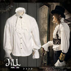 Steampunk goth aristocrat earl of misfortune jabot crease dress shirt【JRSPM003】