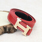 Fashion Casual Children Faux Leather Adjustable Belts For Boys Girls Gift 2019