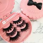 💕TOP Lashes 3 Pairs 3D Mink Fur lashes Or 5 pairs False Eyelashes US SELLER фото