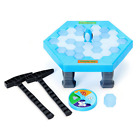 FUNTOK Puzzle Table Games Balance Ice Cubes Save Penguin Icebreaker Beating Inte