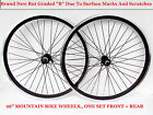 "26"" MOUNTAIN BIKE WHEELS SET , MARKED / SCRATCHED BUT UNUSED NEW ! B GRADED"
