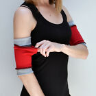Workout Arm Bands with Secret Pocket Hiking Cuffs Running Armbands Yoga 1211