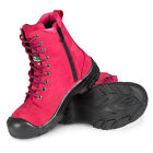 Women's steel toes work boots | With zipper | CSA approved