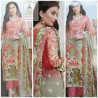 Pakistani Indian Latest Printed Design Ladies Unstitched cambric COTTON SUIT