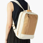 "Women's Canvas Kraft Paper Backpack Rucksack Daypack Travel Bag 15.6"" Laptop Bag"
