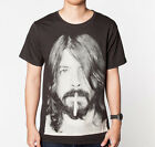 Dave Grohl Foo Fighters Rock MEN Black T-SHIRT Tee Shirt Size S to 3XL Smoking