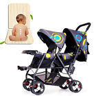 Foldable Baby Jogger City Select Twin Tandem Double Stroller w  Second Seat USA