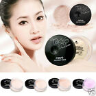 Women Highlight Refreshing Facial Makeup Whitening Skin Loose Powder With Puff
