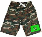 Men's Colorado Weed Leaf Map Fleece Camo Shorts Sweatpant Jogger Kush 420 V348