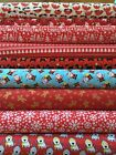 Christmas Themed Polycotton Fabric Various designs & lengths