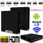 Mini PC Windows 10  Andriod Dual System Quad Core 64Bit 1000M LAN WiFi BT4.0