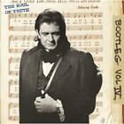 Johnny Cash Bootleg Vol lV Stretched Music Album Canvas Wall Art Poster Print