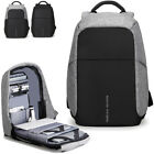 "Men's Water Resistant Business Backpack Rucksack Charging Port 15.6"" Laptop bag"