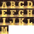 Light Up Letters LED Alphabet Wooden Decoration Party Wedding Decor Hang Stand