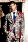 NWT Opposuits 3PC ZOMBIE BLOODY MESS Men's Suit Halloween MENS COSTUME