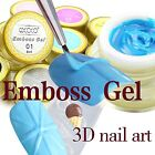 3D Gel Nail Art Painting Gel Emboss Gel Lace Sculpture Gel Canni Gdcoco Nail Art