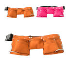 Adjustable 5 Pocket Artificial Leather Tool Belt Tool Pouch for Kids 2Choice