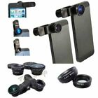 Fish Eye Wide Angle Macro Camera Lens Accessory Pack For iPhone 4 5 6 7 8 S Plus