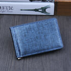 Wallet Slim Money Clip Luxury Business Leather Wallet Credit Card Holder