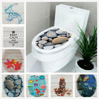 Au 3d Toilet Seat Wall Sticker Bathroom Decor Decal Vinyl Mural Home Decoration