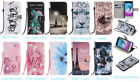 Fashion Beautiful Magnetic Leather Stand Card Wallet Flip Case For Samsung Phone