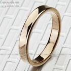 New Gift Men Women Tungsten18K Rose-golden plated Ring mirror wedding band A68