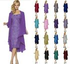 Formal Mother of the Bride Evening dress & Free Chiffon Jacket Stock Size 6-20