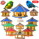 Wooden bird feeder, bird table, birdhouse, feeding station, bird table /UK STOCK