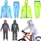 Unisex Windproof Waterproof Jacket Rainwear Suit Bike Cycling Sport Rain Coat