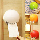 Bathroom Durable Wall Mounted Plastic Toilet Paper Tissue Roll Holder Smile Face