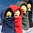 Ski Full Face Mask Cover Hat Cap Motorcycle Thermal Fleece Balaclava Winter US