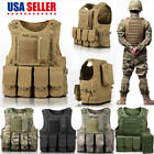 MOLLE Operator Plate Carrier Vest Body Armor Chest Assault Rig Tactical Vest US