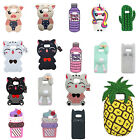 Lucky Cat Unicorn Rabbit Pineapple Pig Silicone Case For Samsung Galaxy S6
