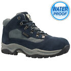 MENS OUTDOOR WATERPROOF WALKING HIKING WINTER WORK ANKLE BOOTS SHOES TRAINERS