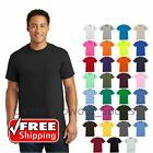 Gildan Ultra Cotton T-Shirt Mens Short Sleeve Tee Blank Solid Soft Plain 2000