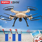 UK SYMA 2.4G X8HW FPV Wifi Camera RC Drone X8HG 720P HD Video Helicopter Outdoor
