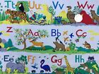Kids Zoo Animals 100%Cotton Fabric Fat Quarter-Per Yard Craft Quilt Upto 30% OFF