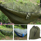 2 Person Jungle Hammock Tent w Mosquito Net Camping Survival Travel Hanging Bed