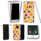 Shockproof 360° Silicone Clear case cover for many mobiles - design ref zx0089