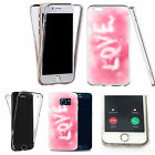 Shockproof 360° Silicone Clear case cover for many mobiles - design ref zx0825
