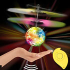 Electric RC Fly Ball Infrared Distance Induction Aircraft Flash LED Remote Toy