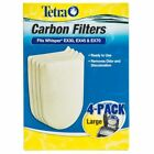 Tetra Carbon Filters Large Medium Whisper EX20 EX30 EX45 EX70 Cartridge Filter