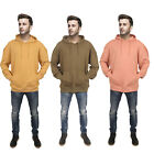 MENS SERGIO ITALIA LONG SLEEVE HOODIE HOODED SPORTS GYM OVERSIZE TOP FLEECE SIZE