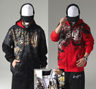 Men's Hip Hop Ecko Unltd Street Dance Scrawl Printing Cotton Hoodies Sweats #21