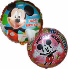 2PCES MICKEY MOUSE HAPPY BIRTHDAY BALLOON PARTY SUPPLIES DECOR GIFT FAVOR TOY