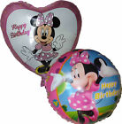 2PCES MINNIE MOUSE HAPPY BIRTHDAY BALLOON PARTY SUPPLIES DECOR GIFT FAVOR TOY