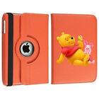 Rotating Winnie the Pooh and Piglet Case Cover Stand For Apple iPad Mini Air Pro